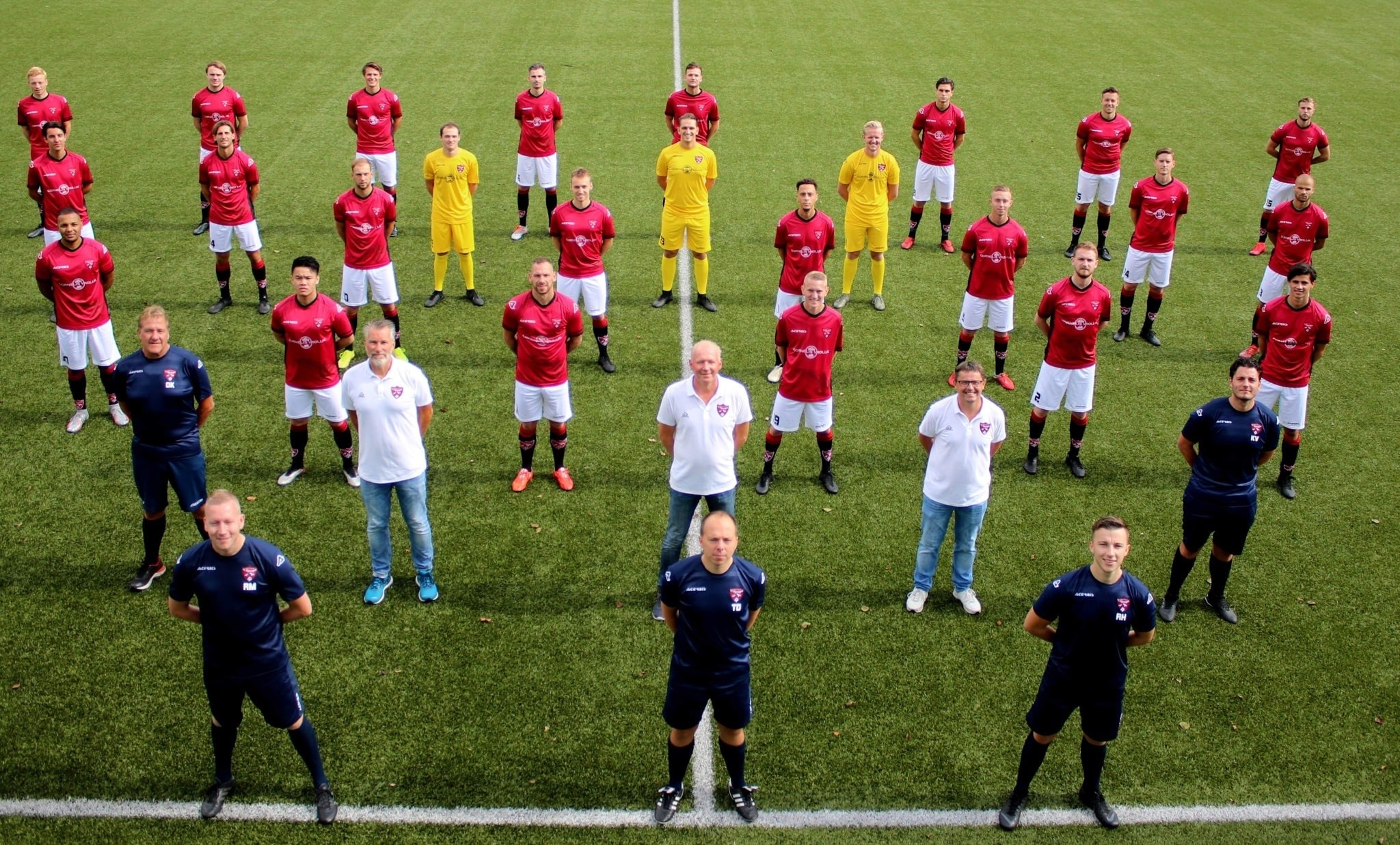 foto van team Heren 1